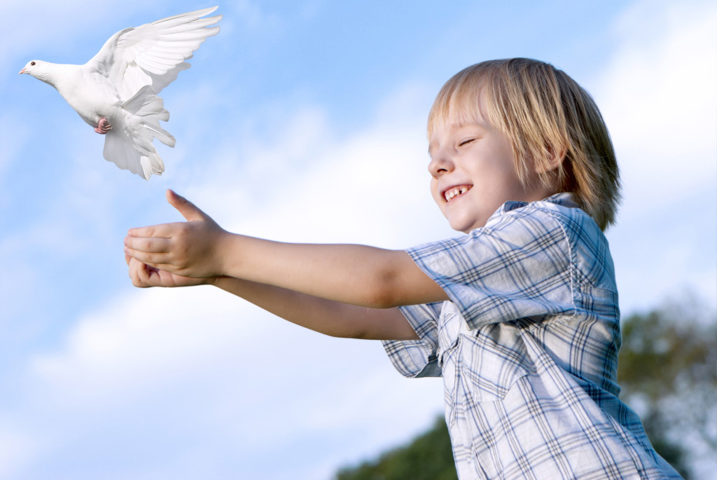 guided meditation for children guided meditation for children - dreamstime m 10528633 1024x685 - Guided meditation for children – Relaxation Flying Technique